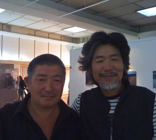 Professor Kim Yung-Ik and Dagvadorj