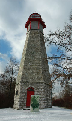Gibraltar Point Lighthouse - This historic lighthouse is said to be the scene of a grizzly murder.
