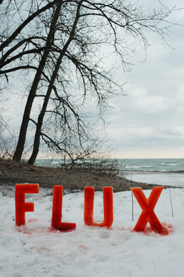 Flux - All is flux. Ice demonstrates the constance of change in nature.