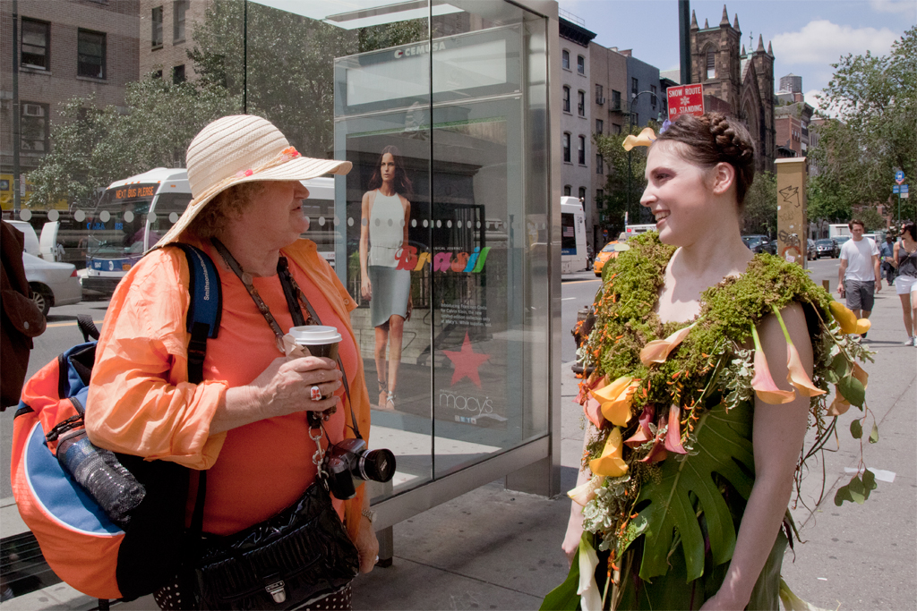 Where does one find sustainable fashion in NYC? No one seems to know.